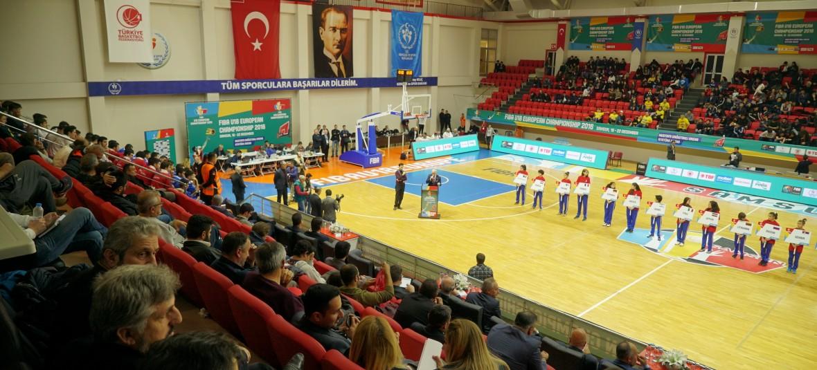 FIBA 2016 U18 European Championship Opening Ceremony Samsun