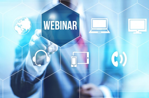 Live Streamed Webinars from different locations